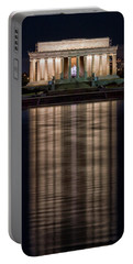 Portable Battery Charger featuring the photograph Lincoln Memorial by Travis Rogers