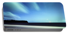 Linear Clouds Over Mayaro Portable Battery Charger