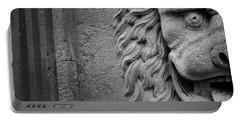 Lion Statue Portrait Portable Battery Charger