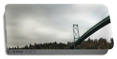 Lions Gate Bridge Vancouver Portable Battery Charger