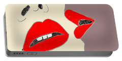 Lips Portable Battery Charger