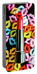 Lipstick Lips Portable Battery Charger