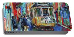 Lisbon Tram 5 Portable Battery Charger