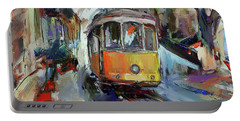 Lisbon Tram 7 Portable Battery Charger
