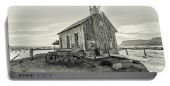 Portable Battery Charger featuring the photograph Little Far West by Andy Crawford