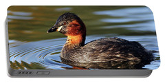 Little Grebe In Pond Portable Battery Charger