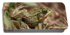 Little Green Frog Portable Battery Charger