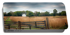 Portable Battery Charger featuring the photograph Little House On The Prairie by Travis Rogers