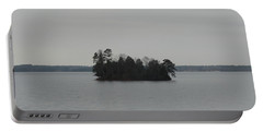 Little Island At Lake Hartwell Portable Battery Charger