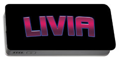Livia #livia Portable Battery Charger