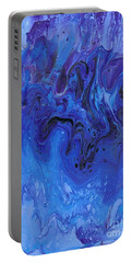 Living Water Abstract Portable Battery Charger