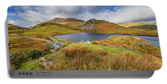 Llyn Y Dywarchen And Boathouse Snowdonia Portable Battery Charger