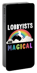Lobbyists Are Magical Portable Battery Charger