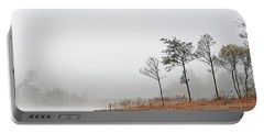 Loch Ard Misty Autumn Morning Portable Battery Charger