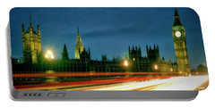 Portable Battery Charger featuring the photograph London By Night by Edmund Nagele