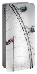 London Eye And Union Jack Portable Battery Charger