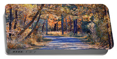 Portable Battery Charger featuring the photograph Long And Winding Road At Gordon's Pond by Bill Swartwout Fine Art Photography
