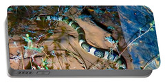 Portable Battery Charger featuring the photograph Longnosed Snake By A Desert Wash by Judy Kennedy