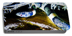 Portable Battery Charger featuring the photograph Longnosed Snake In The Desert by Judy Kennedy