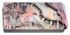 Portable Battery Charger featuring the photograph Longnosed Snake - Rhinocheilus Lecontei by Judy Kennedy