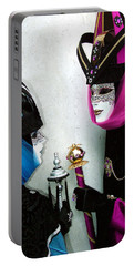 Portable Battery Charger featuring the photograph Looking Into Each Others Eyes by Donna Corless