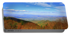 Portable Battery Charger featuring the photograph Looking Towards Vermont And New Hampshire by Raymond Salani III