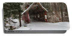 Loon Song Covered Bridge 2 Portable Battery Charger
