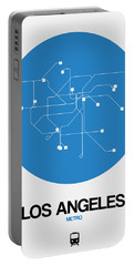 Los Angeles Blue Subway Map Portable Battery Charger