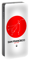 Los Angeles Red Subway Map Portable Battery Charger