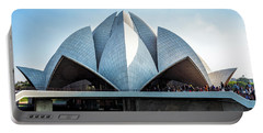 Lotus Temple Portable Battery Charger
