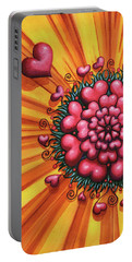 Love Blossom Portable Battery Charger