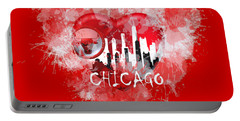 Love Chicago Colors Portable Battery Charger