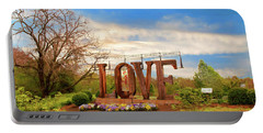 Love In Farmville Virginia Portable Battery Charger