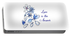Love Is The Answer Portable Battery Charger