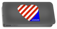 Love Ubabe America Portable Battery Charger