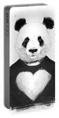 Lovely Panda  Portable Battery Charger