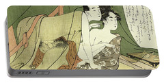 Lovers Under A Mosquito Net, 1789-1801 Portable Battery Charger