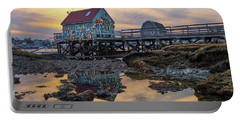 Low Tide Reflections, Badgers Island.  Portable Battery Charger