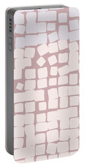 Portable Battery Charger featuring the digital art Lowland by Attila Meszlenyi