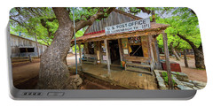 Luckenbach Town Portable Battery Charger