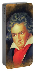 Ludwig Van Beethoven, Music Legend Portable Battery Charger