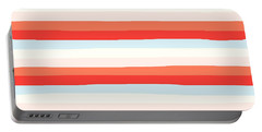 lumpy or bumpy lines abstract and colorful - QAB266 Portable Battery Charger