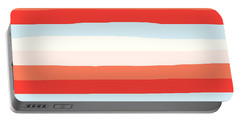 lumpy or bumpy lines abstract and colorful - QAB268 Portable Battery Charger