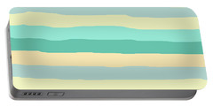 lumpy or bumpy lines abstract and summer colorful - QAB271 Portable Battery Charger