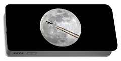 Lunar Photobomb Portable Battery Charger