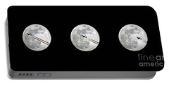 Lunar Silhouette In Sequence Portable Battery Charger