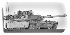 M1a1 A Company Xo Tank Portable Battery Charger