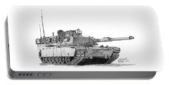 M1a1 D Company Xo Tank Portable Battery Charger