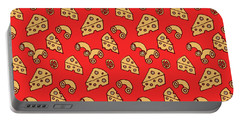 Mac And Cheese Pattern Portable Battery Charger