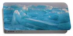 Mackinaw City Ice Formations 2161807 Portable Battery Charger